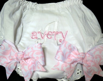Baby Bloomers Diaper Cover with Bows
