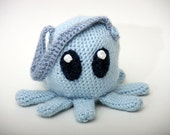 Lil Octopus Purse in Blue