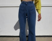 High Waisted Jeans US Navy bell bottoms sz. s