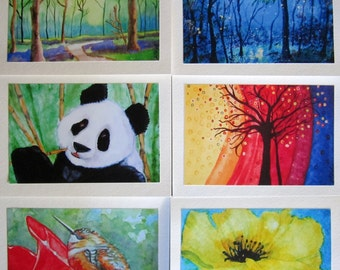 SMALL NOTECARD Boxed Set of 8 - Choose one image