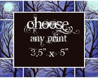 Choose any 3.5 x 5 inch Print