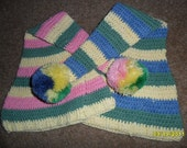 Cotton Easter or Spring Elf Stocking Hat/Cap, Boy or Girl, Ready To Ship  0-6  months only