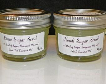 Neroli Sugar Scrub - 4 oz