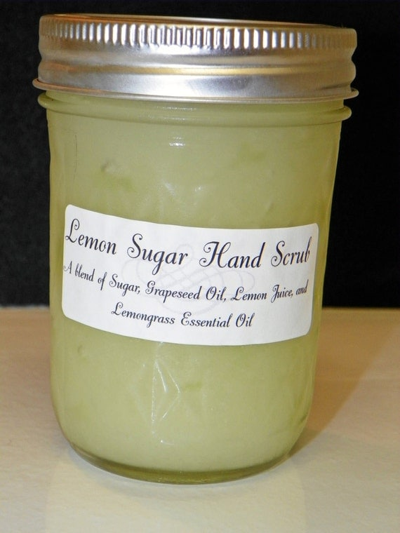 Lemon Sugar Scrub - 8 oz