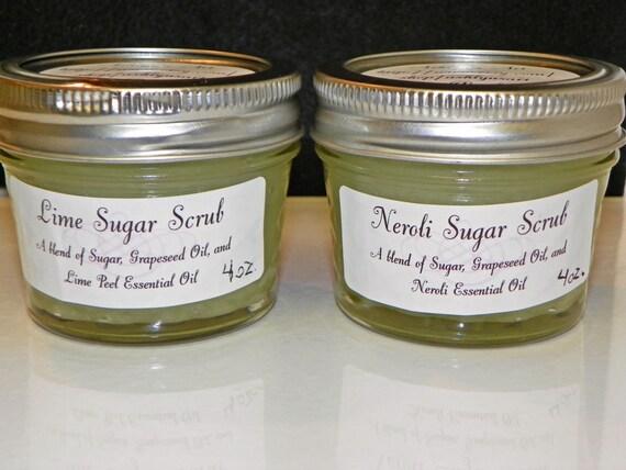 Patchouli Sugar Scrub - 4 oz