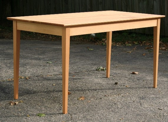 . Handmade Shaker Dining Table