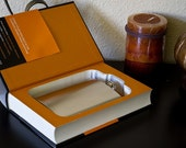 Hollow Book Safe & Flask - The Wealth of Nations, Graduation Gift, Birthday Present