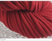T-shirt yarn brick red
