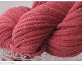 T-shirt yarn Sunwashed coral