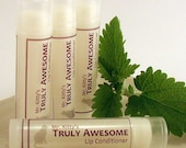 Truly Awesome Mint - Lip Conditioning Balm with Shea Butter and Coconut Oil