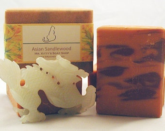 Asian Sandalwood Handcrafted Shea Butter Soap