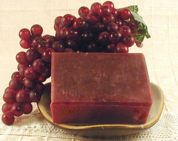 In Vino Veritas - Cabernet Sauvignon Wine Shea Butter Soap