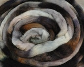Handpainted Polwarth Top - Misty Water
