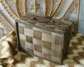 Gorgeous woven picnic basket
