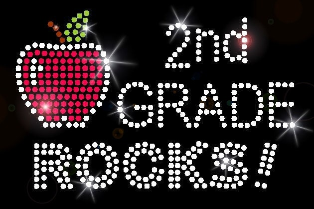 2nd Grade Rocks Clipart 2nd second grade rocks school