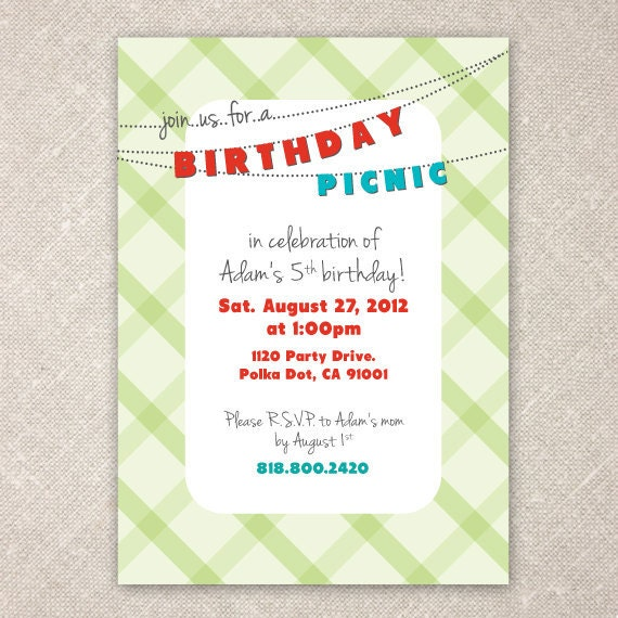 Bday Invites is Unique Layout To Make Awesome Invitations Ideas