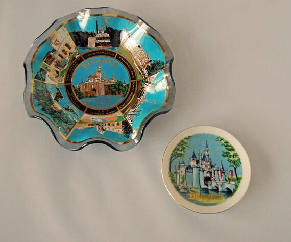 Set of Disneyland Souvenir Plates SALE