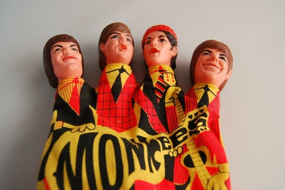 Monkees Hand Puppet Non Working