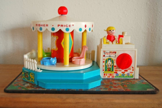 Fisher Price Little People Musical Merry Go Round