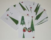Oh Christmas Tree  36 Earring Display Cards