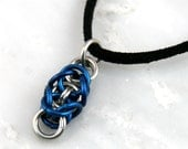 Small Byzanclean Chain Maille Pendant -FREE Chain Included-