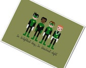The *Original* Pixel People - Green Lanterns of Sector 2814 - PDF Cross Stitch Pattern - INSTANT DOWNLOAD