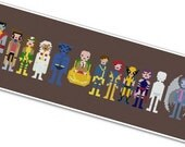 X-Men - The *Original* Pixel People - PDF Cross-stitch Pattern - INSTANT DOWNLOAD