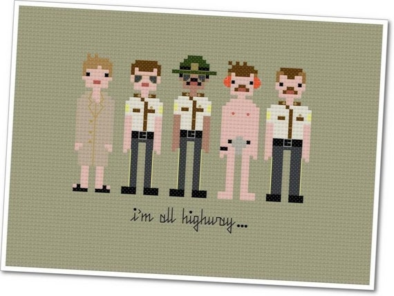 The *Original* Pixel People - Super Troopers - PDF Cross-stitch Pattern - INSTANT DOWNLOAD