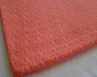 Botany by Lauren and Jesse Jung for Moda Fabric, Tiny Coral Vines Fabric,  OOP