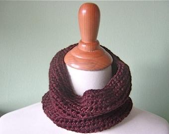 The Mini Cary Cowl - Luxurious Hand Crochet Merino Wool Scarf