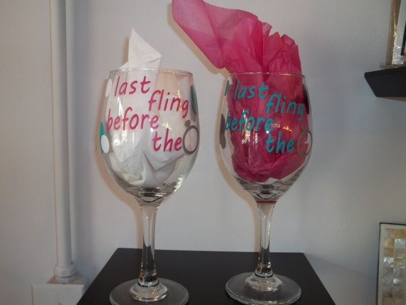 Last Fling Before the Ring Bachelorette Decal