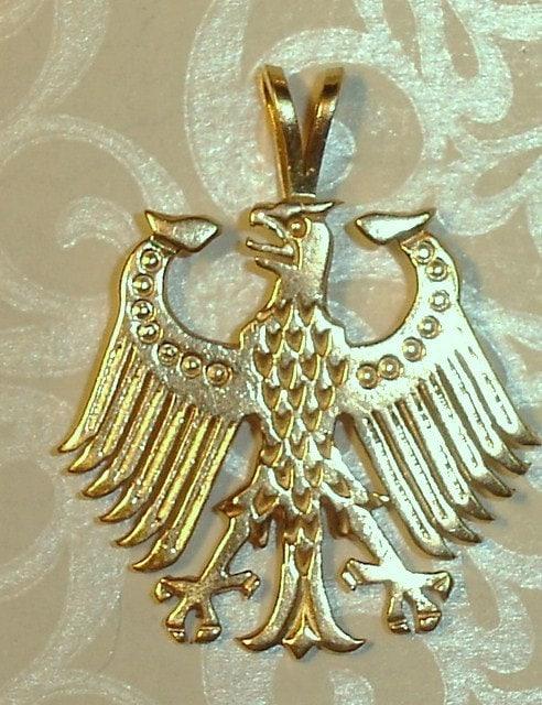 Vintage 14K German Eagle Pendant or Charm by joolaholic on ...