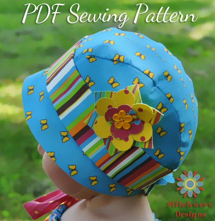 Baby Infant Toddler Child Hat Pdf Sewing By Stitchwerxdesigns