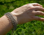 Simple Stainless Chainmaille Bracelet