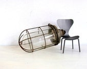 Industrial Cage Lamp Holiday SALE 20% OFF