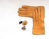 Vintage Leather Gloves Deerskin Unisex 9.5 dreamt