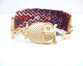 Night Owl Friendship Bracelet