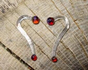 Sunstruck 6g gauged talons ear plugs earrings for stretched piercings