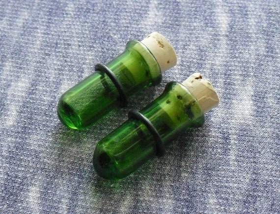 Test Tube Plug Green Test Tube Plugs 1/2 Inch