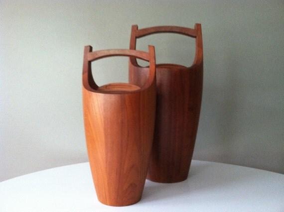 Extra Large Teak Ice Bucket by Jens Quistgaard for Dansk