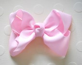 Ballerina Pink Hair Bow