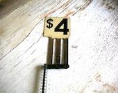 Vintage 4 Dollar  Cash Register flag
