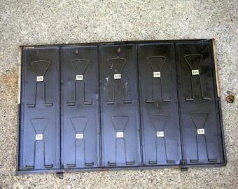 Vintage receipt clip board