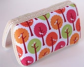 Plush Modern Trees Baby Wipes Case - handmade by Sew Simply Baby