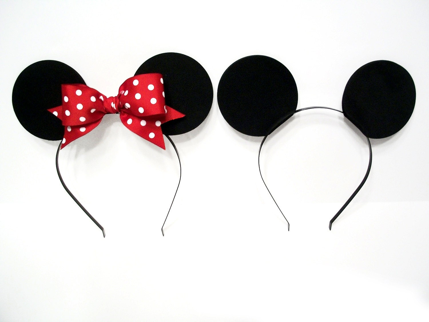 Minnie Mouse Ears Headband - Viewing Gallery