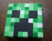 Minecraft Creeper painting