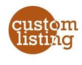 Custom listing for Tianna