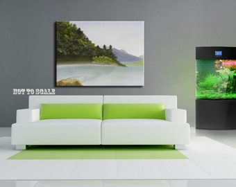A Different View - Original - Landscape painting - DanielBrunosArts - ( 16'' x 20''  x.5 deep )