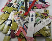 RESERVED for Jeannie:  Zippers, Vintage 50s to 70s, New unused, metal and nylon,