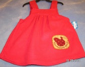 SALE Girls Toddler Jumper  Dresses In Various Colors and Sizes